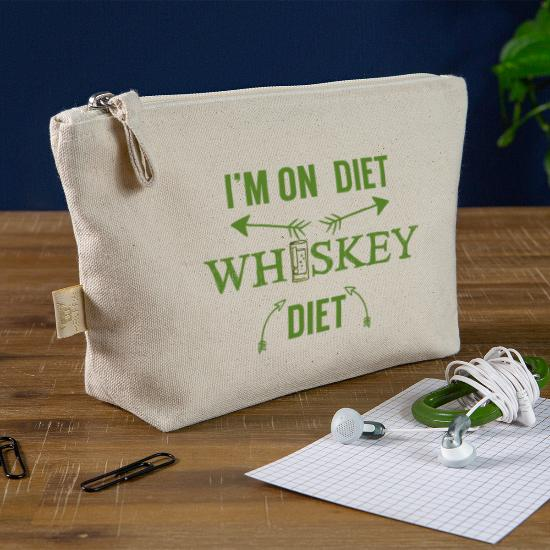 Whiskey Jeg er på diett. Whiskey kosthold. Veske | Spreadshirt