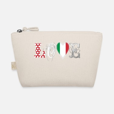 Countires Love Italia White - The Wee Pouch