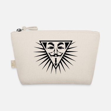 Hacking Revolution Democratie Anonymous NWO logo 1c - Trousse