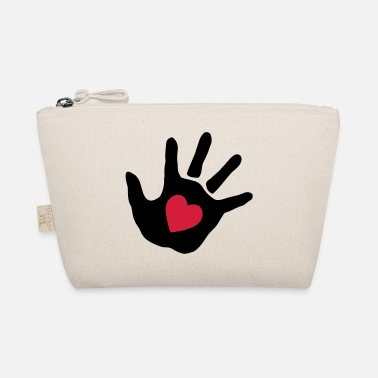 baby - hand - handprint - heart - The Wee Pouch