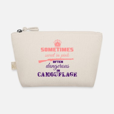 Camoflage Sweet in Pink - The Wee Pouch