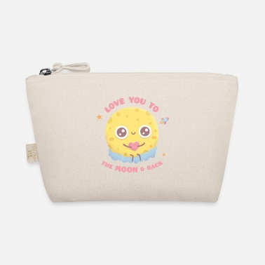 Whimsical Love You To The Moon And Back, Sitting On Clouds - The Wee Pouch