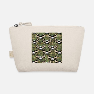 Cool Muscle Man Pattern in Green for Bodybuilders - The Wee Pouch