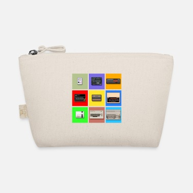 Zx Spectrum Pixel Retro Gaming Machines Squares - The Wee Pouch