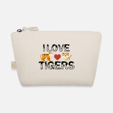 I Love Tiger I love tigers - The Wee Pouch
