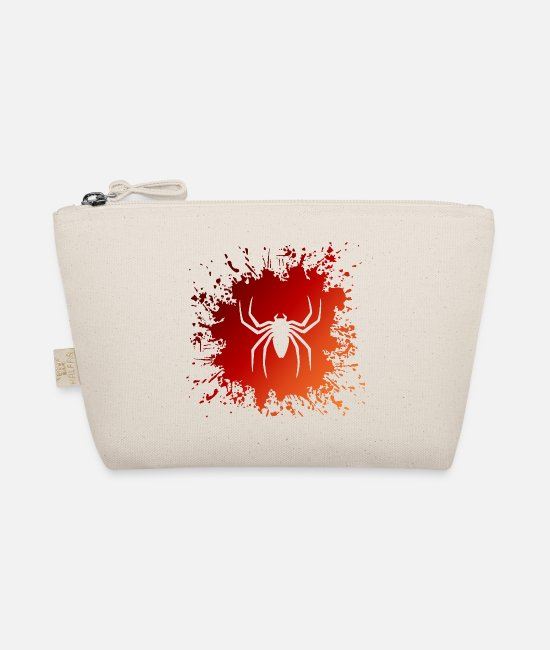 Red Bags & Backpacks - Spider Spider Splash - The Wee Pouch nature