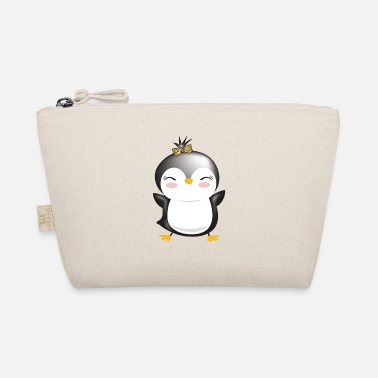 penguin with ribbon - The Wee Pouch