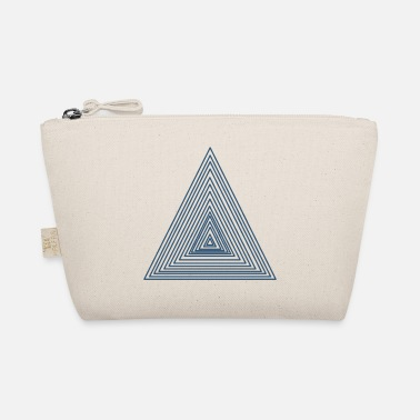 Triangle Triangles blue - The Wee Pouch