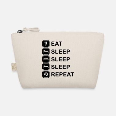 Sleep Eat, sleep, sleep, sleep, repeat - The Wee Pouch