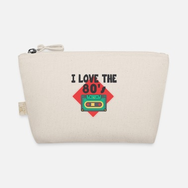 Retro I love the 80s retro gift cassette - The Wee Pouch