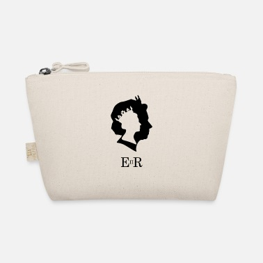 Queen Elizabeth Silhouette British London UK - The Wee Pouch