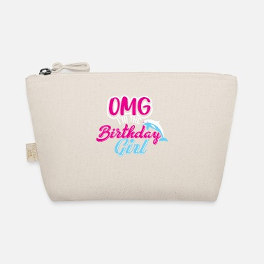 Birthday OMG I'm The Birthday Girl Dolphin Tee Shirt Gift - The Wee Pouch