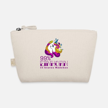 99 Percent 99 percent Unicorn 1 percent good girl - The Wee Pouch