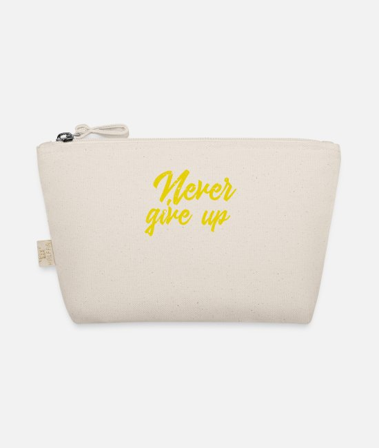Good Mood Bags & Backpacks - Never give up vintage - The Wee Pouch nature