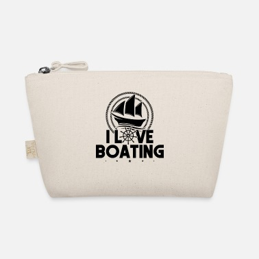 Motor Boat I Love Boating Motor Boating Captain - The Wee Pouch