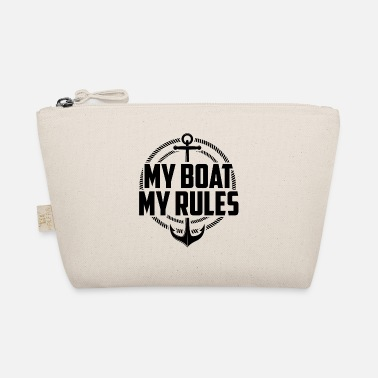 Motor Boat My Boat My Rules Motor Boating Captain - The Wee Pouch