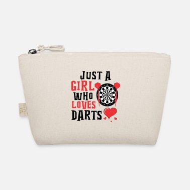 Wm Only a woman who loves darts - Täschchen
