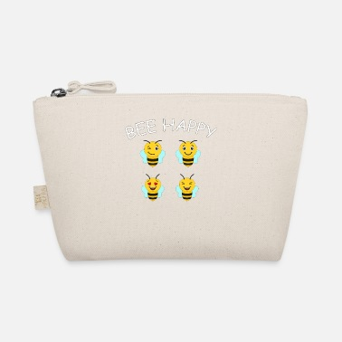 Bee Happy Cute Bee For Kids For Women For Men Be H - The Wee Pouch