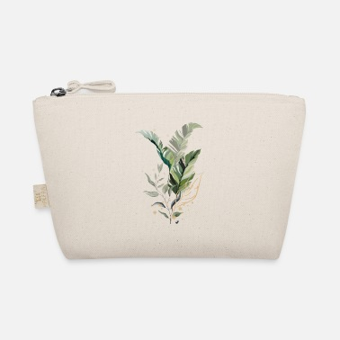 Shade Tropical Leaves Illustration - The Wee Pouch