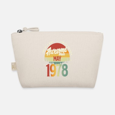 1978 Beautiful Vintage May 1978 Birthday Design - The Wee Pouch