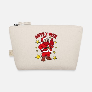 Virus Happy X-Mask Santa Claus with face mask - The Wee Pouch