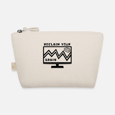 Programmemer RECLAIM YOUR BRAIN ANARCHY GRAPHIC DESIGN GIFT - The Wee Pouch