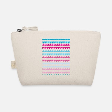 Pattern PINK BLUE HEARTS PATTERN - The Wee Pouch