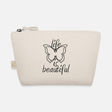 Beautiful Butterfly, life is beautiful (Life is beautiful) - The Wee Pouch