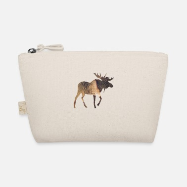 Funges Moose and Mushroom - The Wee Pouch