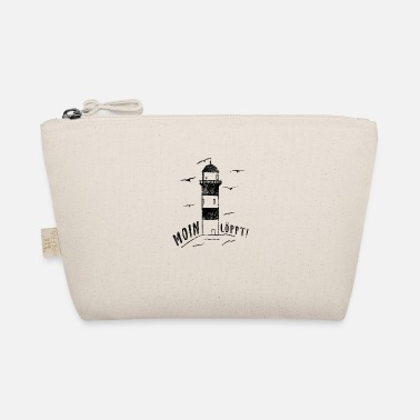 Taciturn Moin Löppt lighthouse Northern German saying design - The Wee Pouch