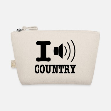 Country I music country / I love country - Liten väska