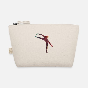 Whimsical Dancer ballerina abstract - The Wee Pouch