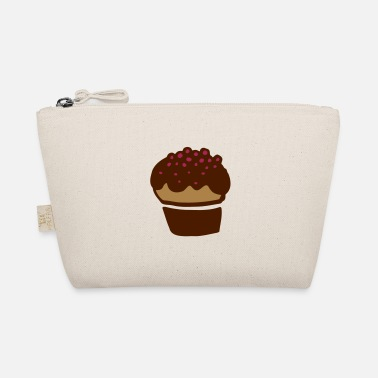 Cake Muffin colorful sprinkles - gift & birthday - The Wee Pouch