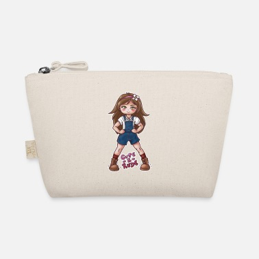 Rude Girl Strong Girl - Cute and rude - The Wee Pouch