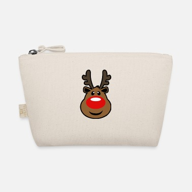 Rudolph, the red nosed Reindeer Christmas design - The Wee Pouch