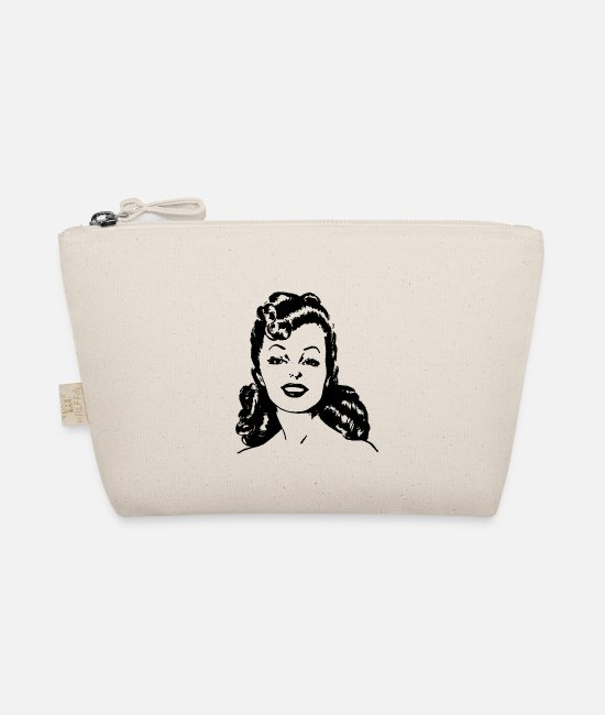 Art Bags & Backpacks - Retro woman - The Wee Pouch nature
