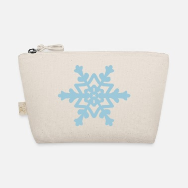Snowflake / Snowcrystal winter design - The Wee Pouch