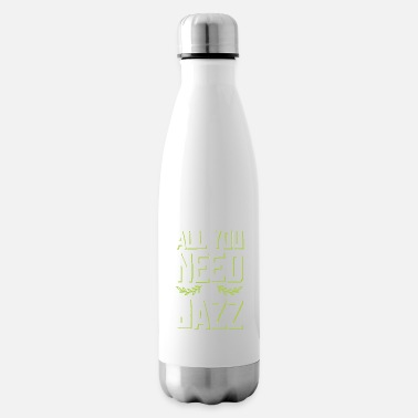 Producer logo jazz music - Insulated Water Bottle