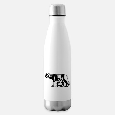 Rome Wolf Rome Italy - Insulated Water Bottle