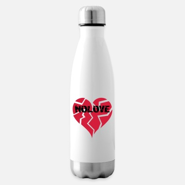 Nolove NO LOVE | Broken Heart - Isolierflasche