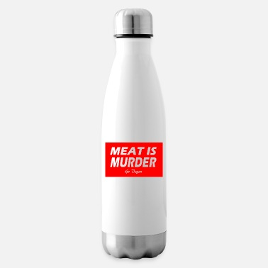 MEAT IS MURDER - Insulated Water Bottle