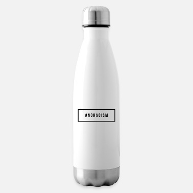 Racism No to Racism - No to Racism - Insulated Water Bottle