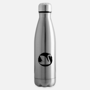 Watch Swan - Swan / Zoo - animal lover / nature conservation - Insulated Water Bottle