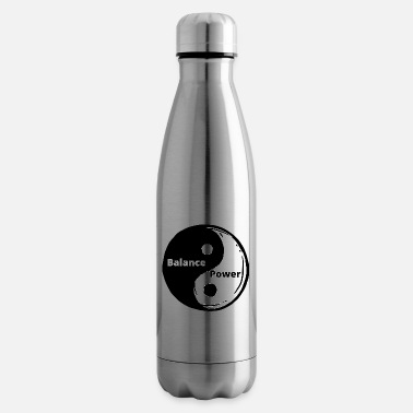 Zen Yin Yang, Sacred Geometry Universe Architect - Insulated Water Bottle