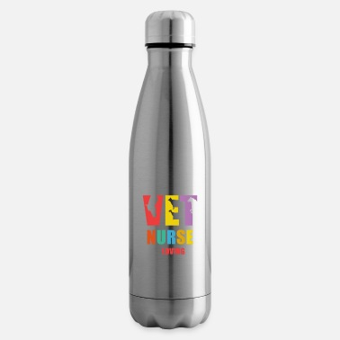 Nurse Vet Nurse and Loving it Veterinary T Shirt - Insulated Water Bottle