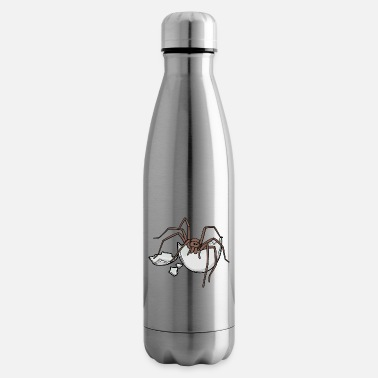 Vermin Spider Egg Eirer Bowl Hatch Phobia Disgust - Insulated Water Bottle