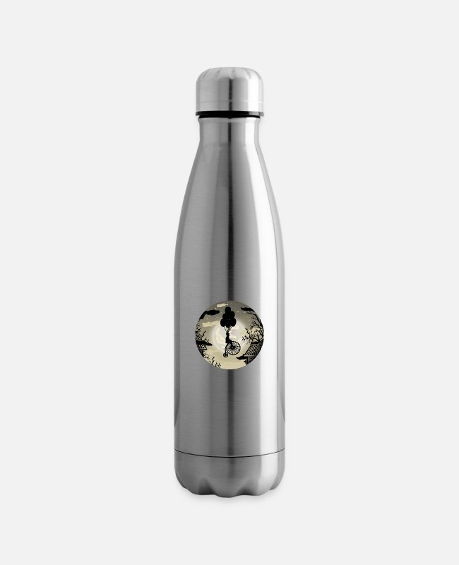 Vintagecontest Mugs & Drinkware - Steampunk dreamer - Insulated Water Bottle silver