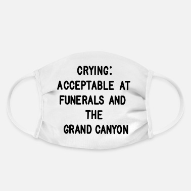 Ron Swanson Acceptable At Funerals - Face Mask