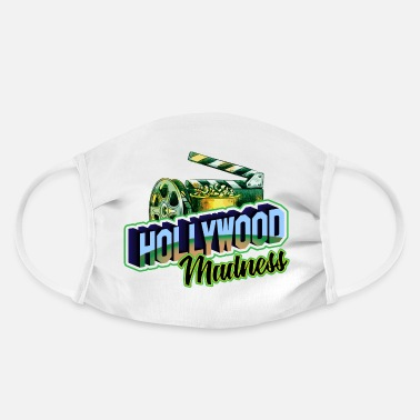 Hollywood Hollywood Madness - Hollywood Wahnsinn - Gesichtsmaske