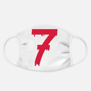 Age lucky number seven - Face Mask